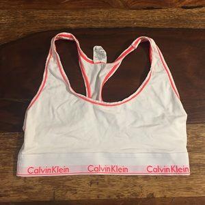 Girls Calvin Klein Training Bra